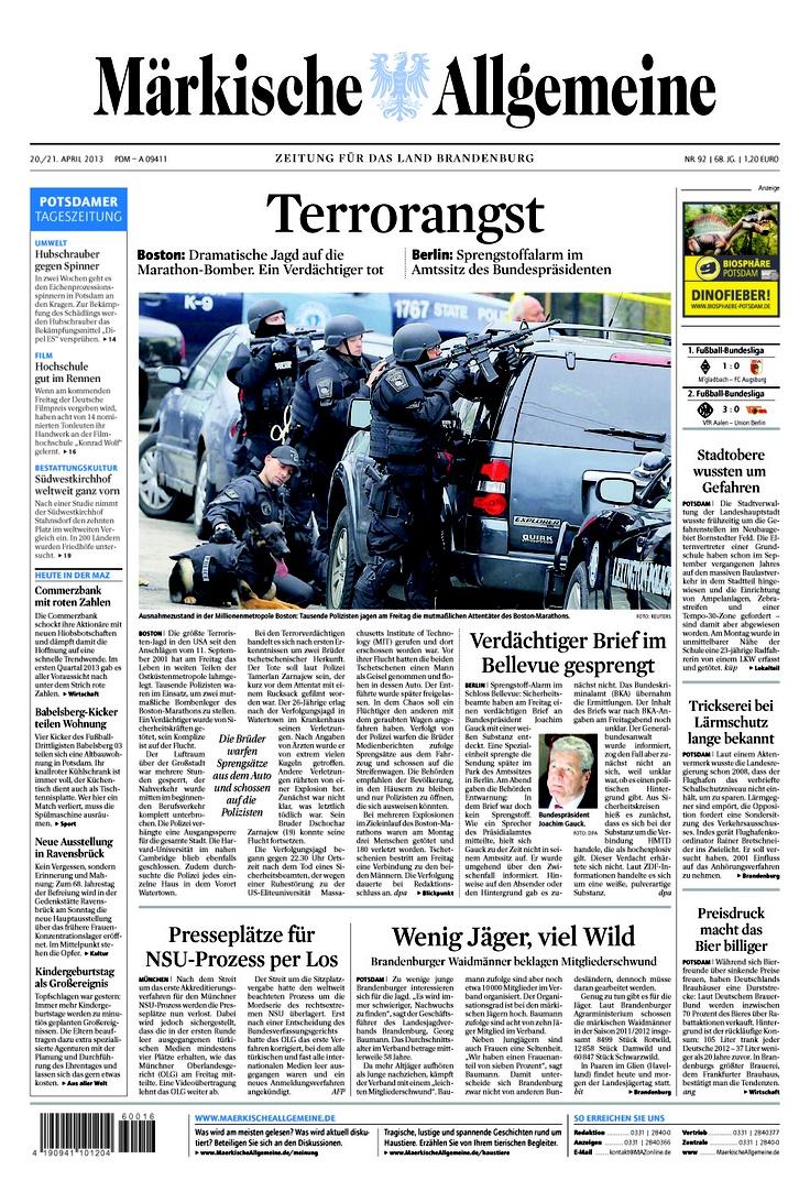 Zeitung Brandenburg