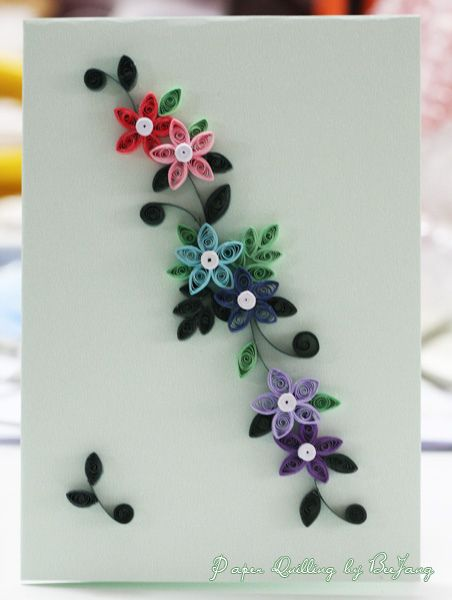 Quilling Card by BeeJang - Piratchada, via Flickr