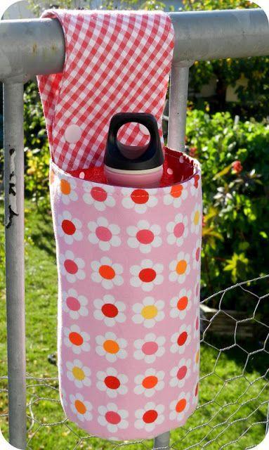 kleine fluchten: Flaschenhalterung für Kinderwagen