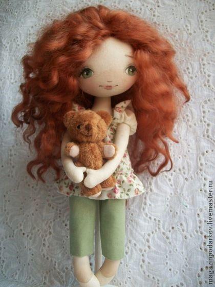 Коллекционные куклы ручной работы. Ярмарка Мастеров - ручная работа Кукла Зойка. Handmade.