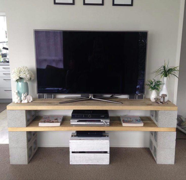 les 9 meilleures images du tableau meubles parpaings sur pinterest parpaings blocs de b ton. Black Bedroom Furniture Sets. Home Design Ideas