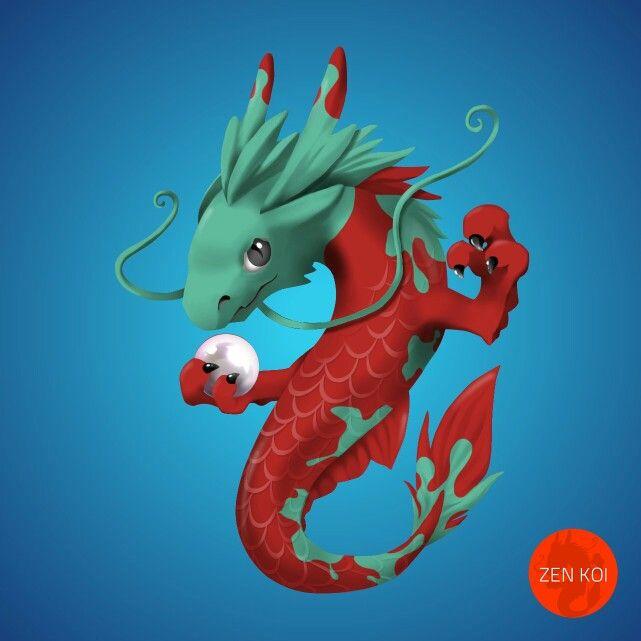 14 best zen koi dragons images on pinterest games for Koi zen facebook
