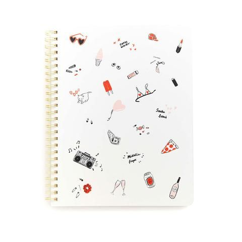 this notebook says it all...girls just wanna have fun!
