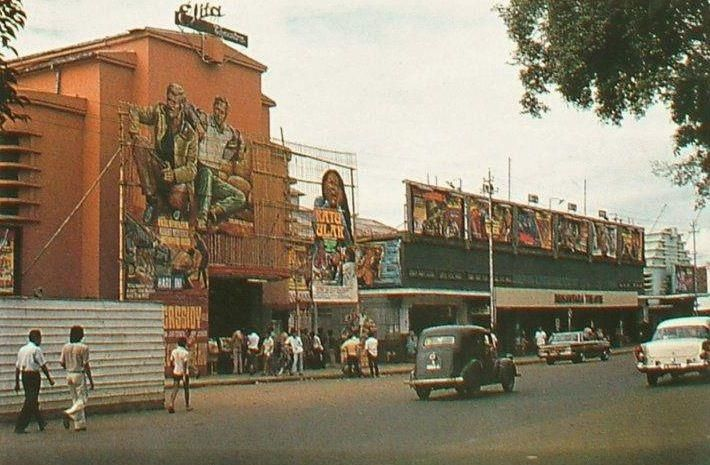 Bioskop Elita & Nusantara (1972)  Alun-Alun Bandung