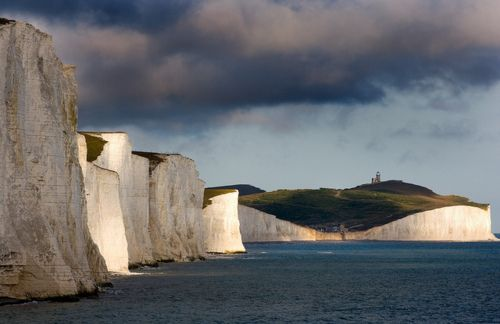 "Chalky white cliffs of Sussex, England...they make me want to scream, ""See?! The cliffs of INSANITY!"""