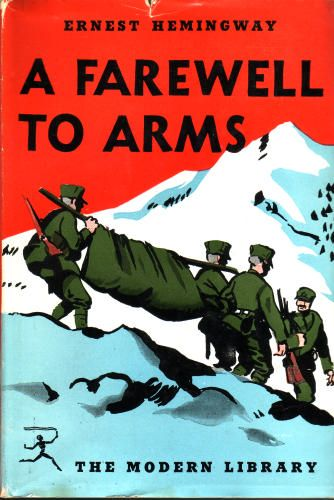 love and war in a farewell to arms by ernest hemingway Ernest hemingway ` a farewell to arms` with its relatively simple plot, sparse language, and seemingly traditional background of love and war, earnest hemingway's third novel, a farewell to arms stands as one of the most highly regarded novels of the twentieth century.