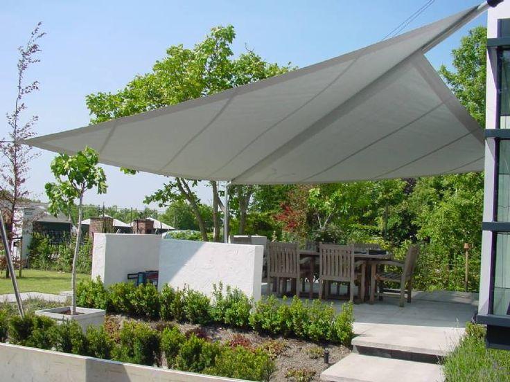 Mooie zonnescherm inspiratie! Ga naar www.Klusopmaat.nl en plaats gratis je klus!