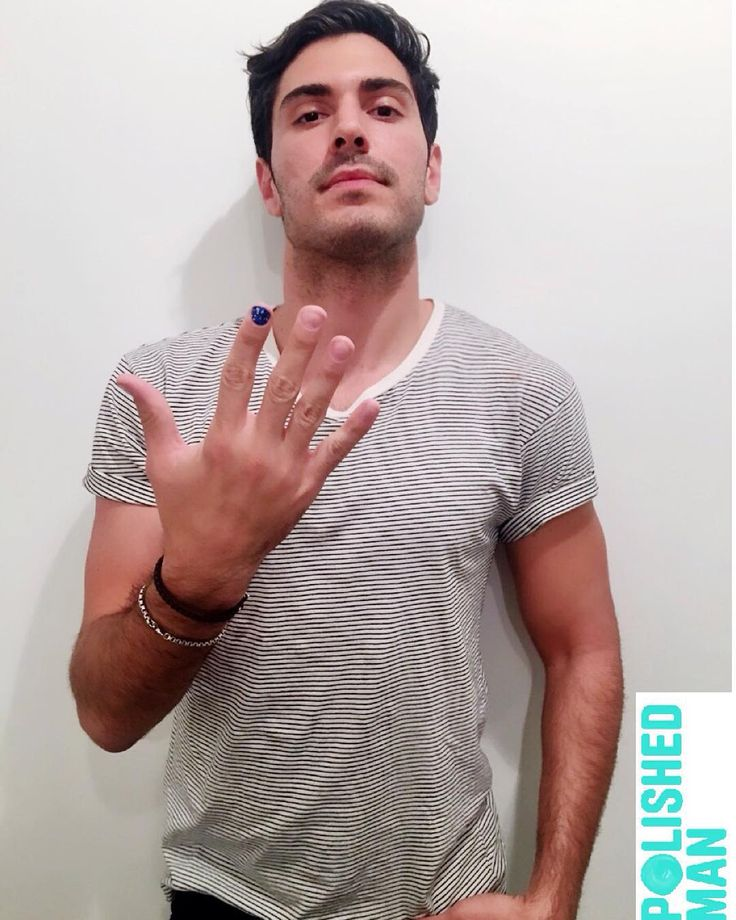 If You See Men Walking Around With One Fingernail Painted, This Is The Reason Why  #PolishedMan