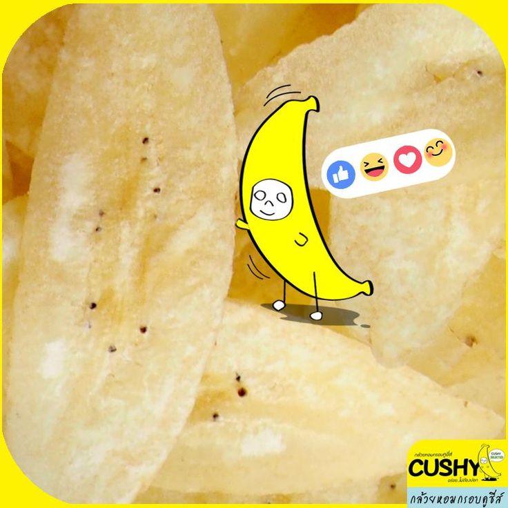 In love in Banana . In love in Cushy #cushy #cushybananachips #banana #Thailand