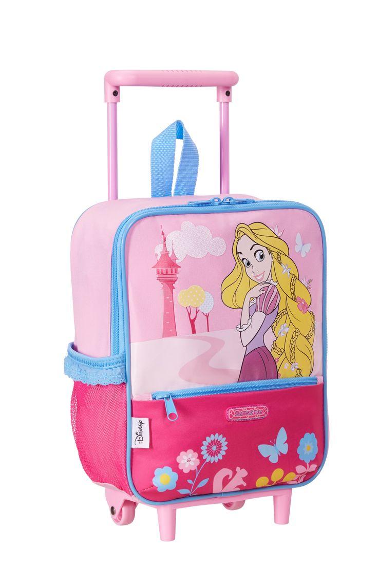 Disney Wonder - Princess School Trolley #Disney #Samsonite #Princess #Travel #Kids #School #Schoolbag #MySamsonite #ByYourSide