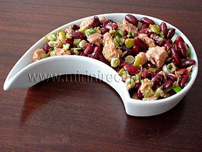 salate pasulj tunjevina