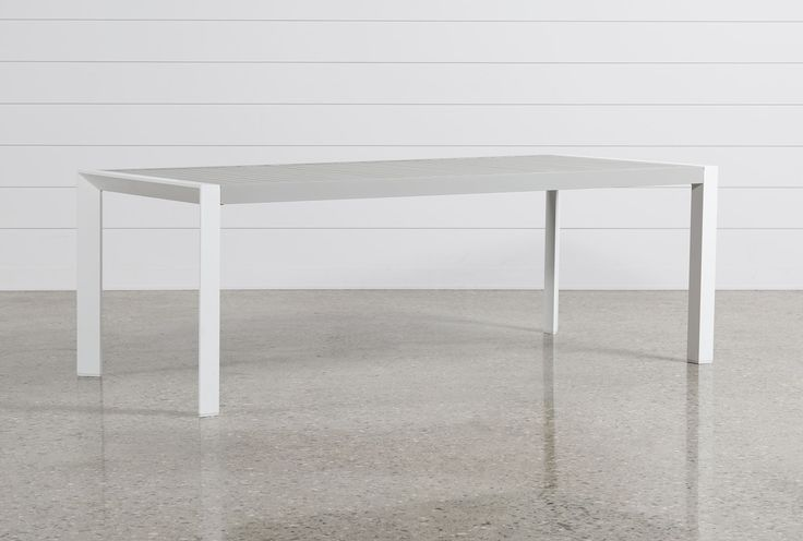 Biscayne Rectangle Outdoor Dining Table