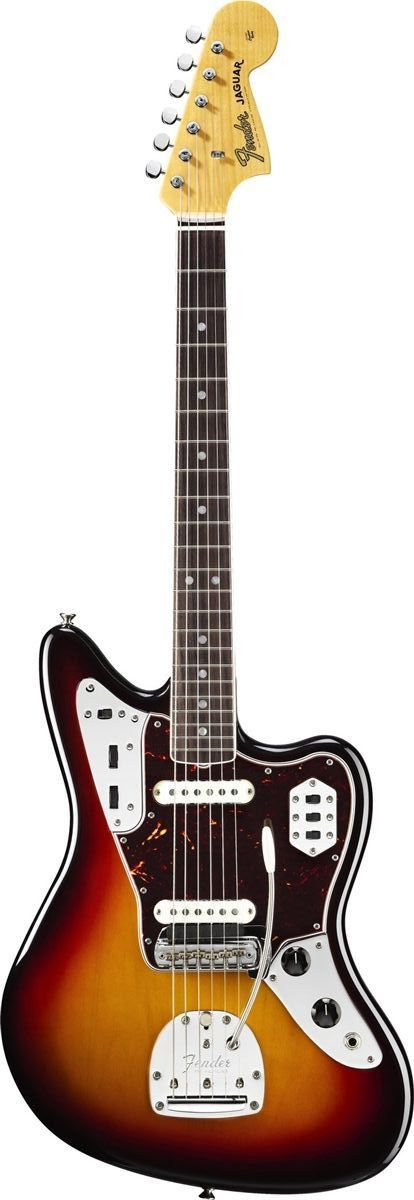 Fender American Vintage '65 Jaguar Electric Guitar. I could never afford this but a girl can dream