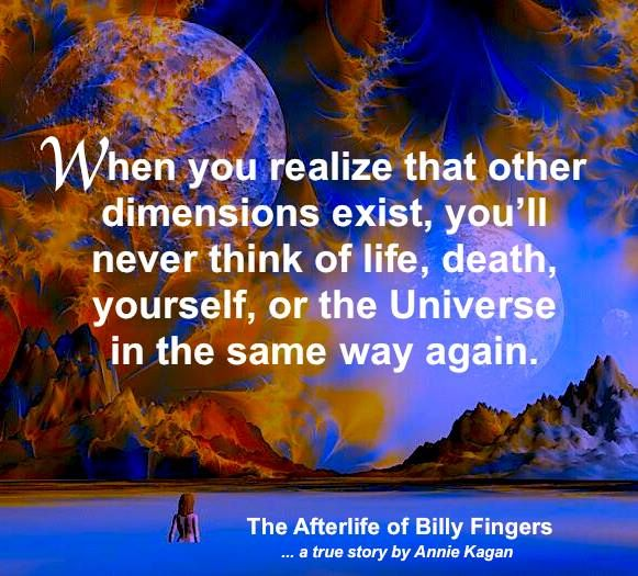 When you realize that other dimensions exist, you'll never think of Life, death, yourself or the Universe in the same way again.