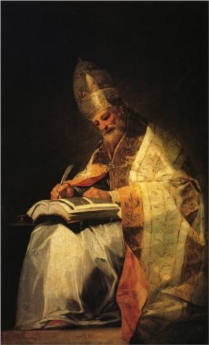 San Gregorio - Francisco de Goya