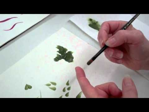 ▶ How to use Filbert Brushes for Decorative Painting - YouTube