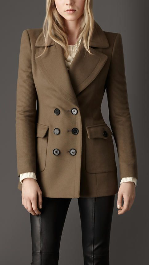 Burberry Oversize Pocket Pea Coat - I love Pea coats - not sure about the pockets on this one though.