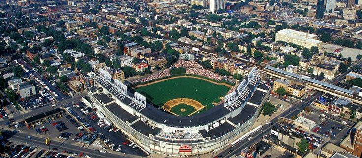 CONSTRUCTION RENOVATION UNDERWAY FOR WRIGLEY FIELD