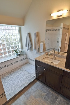 1000 images about 44 fb tile ideas on pinterest herringbone traditional bathroom and plank - Nice subway tile bathroom designs with tips ...