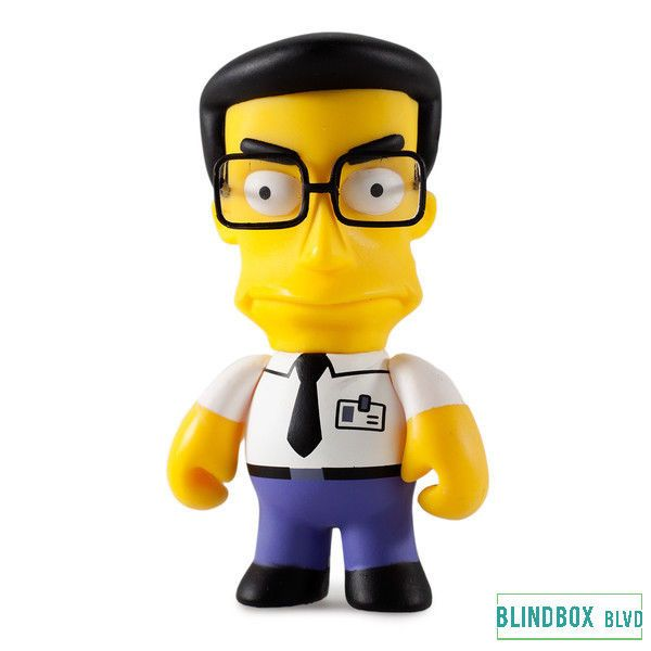 "Frank Grimes - The Simpsons 25th Anniversary Mini Series by Kidrobot 3"" #Kidrobot"