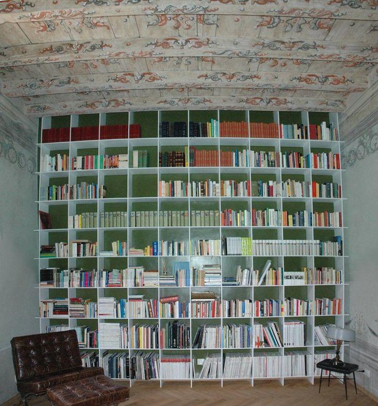 Corian library, Brescia, 2010 - Federico Guastaroba