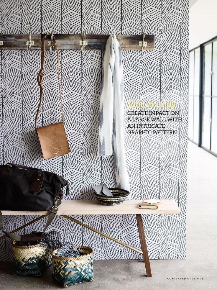 Herringbone wallpaper from ferm LIVING: http://www.fermliving.com/webshop/shop/wallpaper/herringbone-wallpaper.aspx