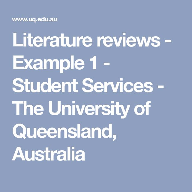 The 25+ best Example of literature review ideas on Pinterest - sample quotations