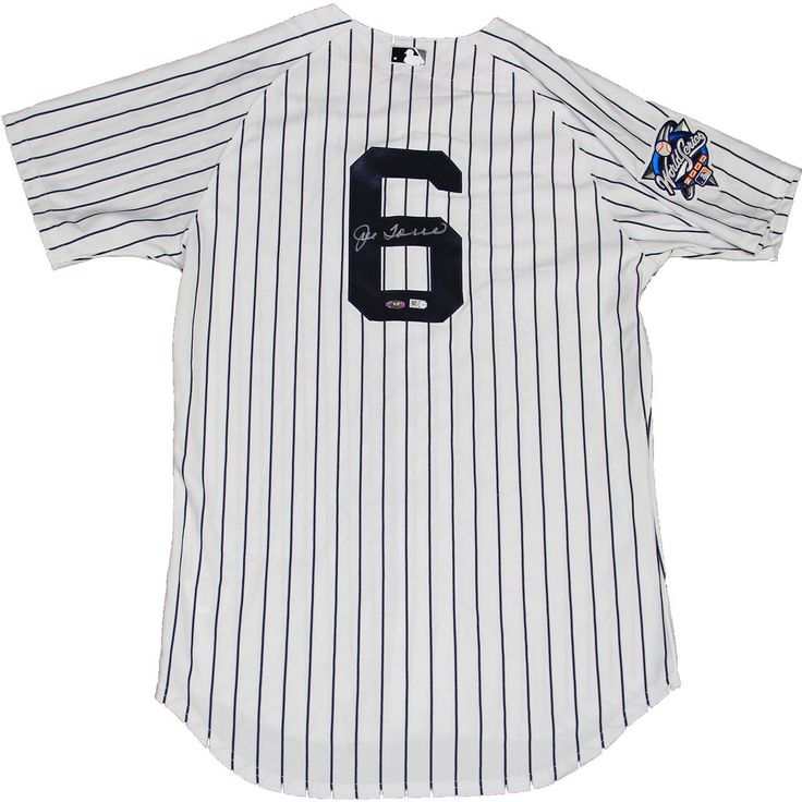 Steiner Joe Torre Signed 2000 World Series New York Yankees Authentic Home Jersey