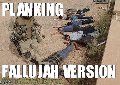 Planking- Fallujah Version