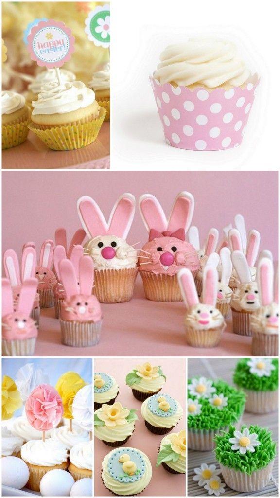 #Spring Time Favorites: Easter #Cupcake Ideas