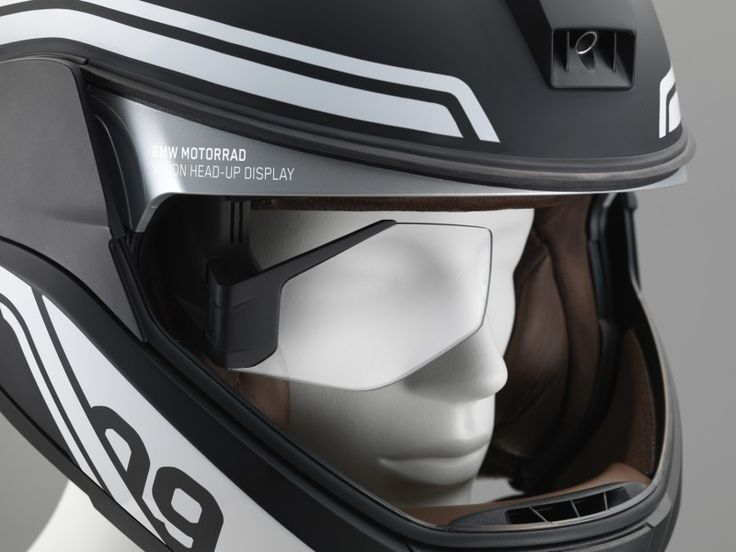 BMW Helmet Equipped with Head-Up Display and Rearview Camera | American Luxury