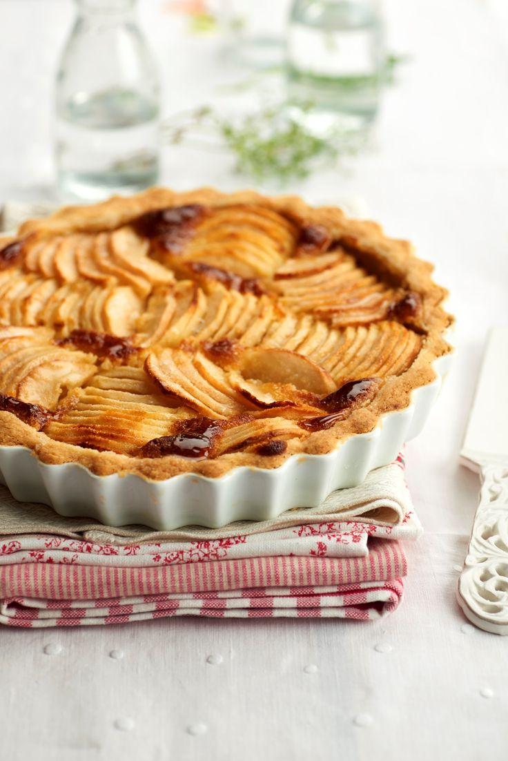 #Apple french tart o #tarta de #manzana a la francesa