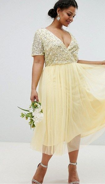 30 Plus Size Summer Wedding Guest Dresses {with Sleeves} | Plus Size ...