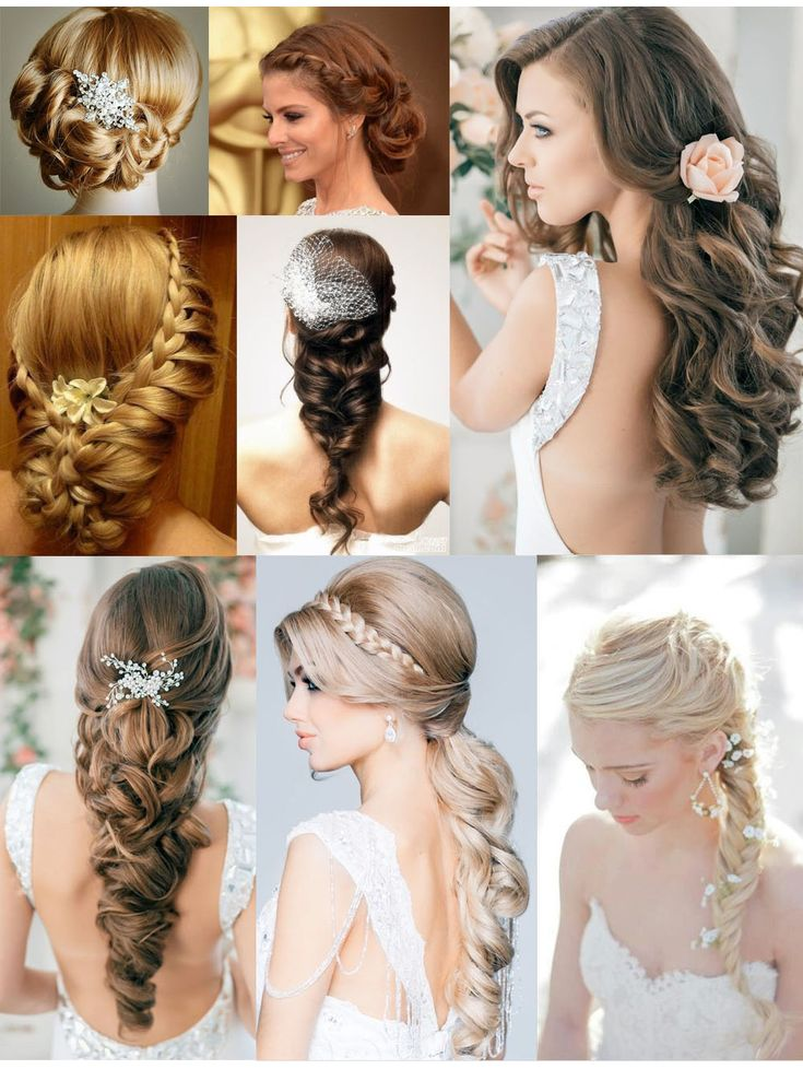 Wedding hairstyle inspiration from OhAngie.se
