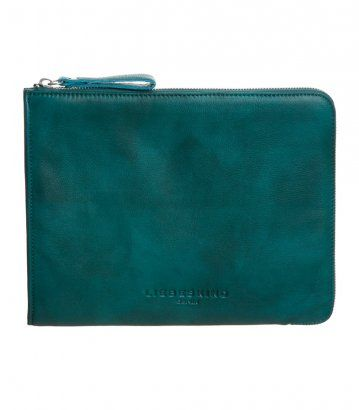 Liebeskind notebook sleeve - petrol