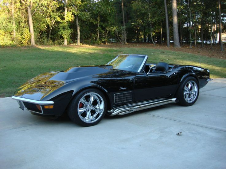 Phenomenal Corvette Pro Touring Roadster W