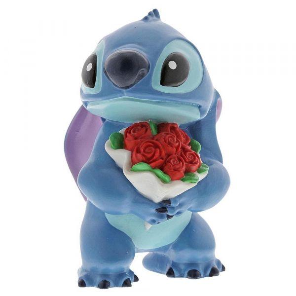Disney Showcase Stitch Laying Down Mini Figurine 6002189 New