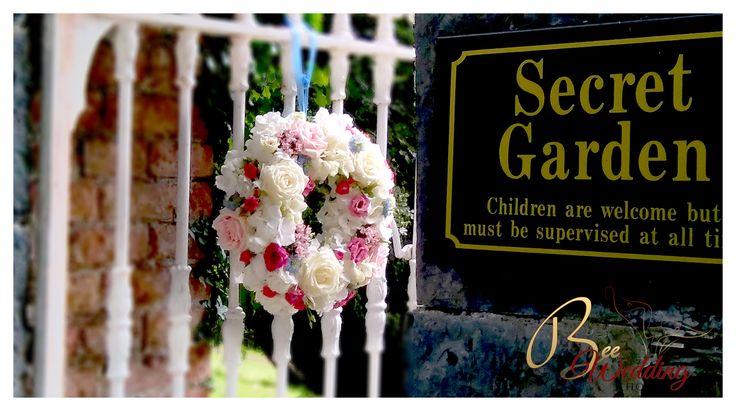Secret Garden in Boyne Hill House, Navan.