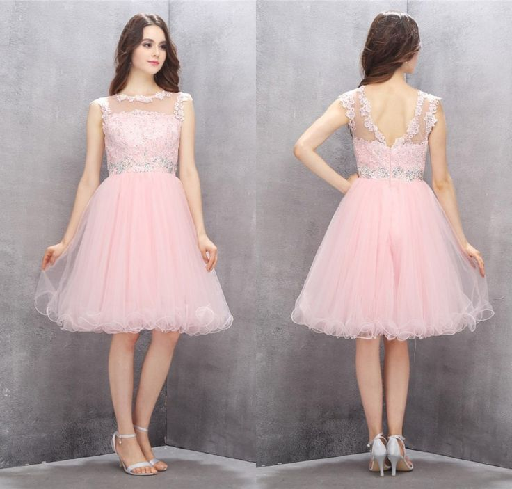 A-line Homecoming Dresses,Short Homecoming Dresses,Pink Homecoming Dresses,A-line Prom Gown,Pink Party Dresses