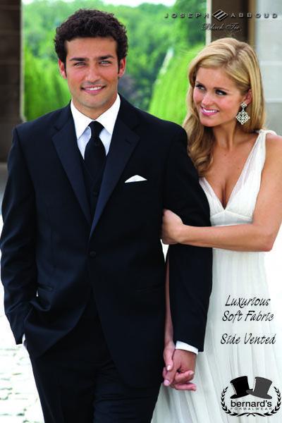 -the Waldorf II notch #tuxedo  -luxuriously soft Super 120s wool  www.bernardsformalwear.com #bernardstux