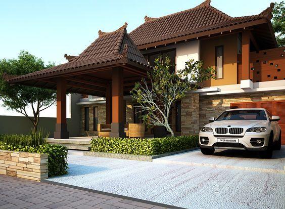 Ditengah Gempuran Permintaan Desain Arsitektur Modern Rumah Muslim Rumah Ramah Lingkungan Dan Rumah Eklektik