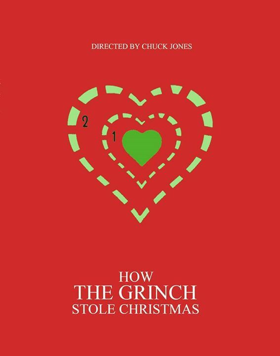 How The Grinch Stole Christmas Minimalist Poster The
