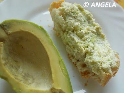 SMAKOŁYKI ANGELI, ANGELA'S DELICACIES, LE PRELIBATEZZE DI ANGELA: Pasta z awokado do chleba - Avocado Sandwich Spread - Crostini con avocado