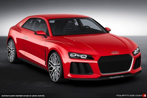 """Audi Sport quattro Concept Gets New Paint & New Laserlight Tech for CES 2014"" From @Fourtitude"