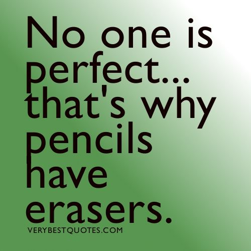 Perfect Quotes | No one is perfect quotes with image - Inspirational Quotes about Life ...