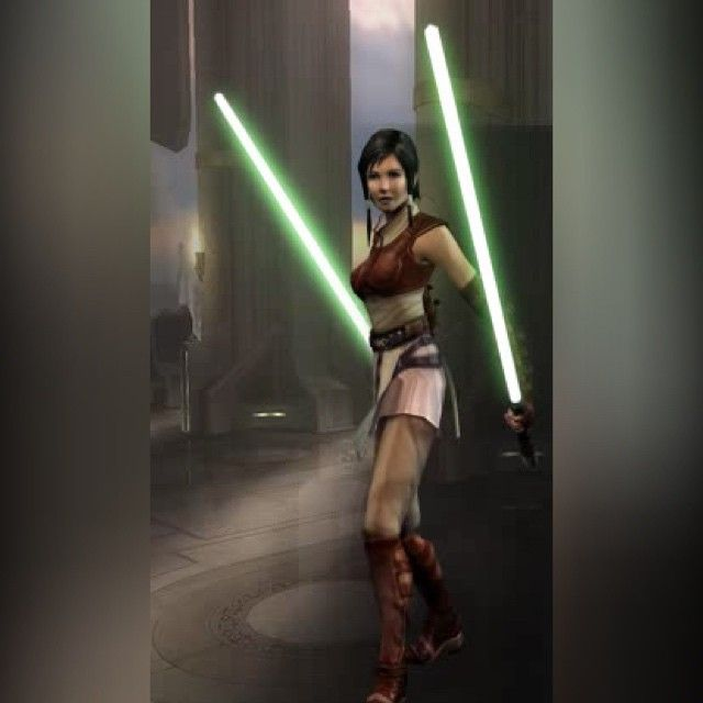 Serra Keto was a Human female Jedi Knight. Originally a Padawan of the renowned Jedi Master Cin Drallig, she was considered his best student. Keto was a practitioner of Jar'Kai, a dual-blade fighting technique, and like her Master, was known for her skills with a lightsaber. Keto fought in the Clone Wars, serving as a Jedi General, and even fighting alongside the famed Jedi Anakin Skywalker during one battle. In 19 BBY, she was killed during Operation: Knightfall.