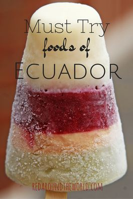 Ecuador has some pretty delicious food, and I'm glad I got to try a lot of it.  and the ice cream is awesome.