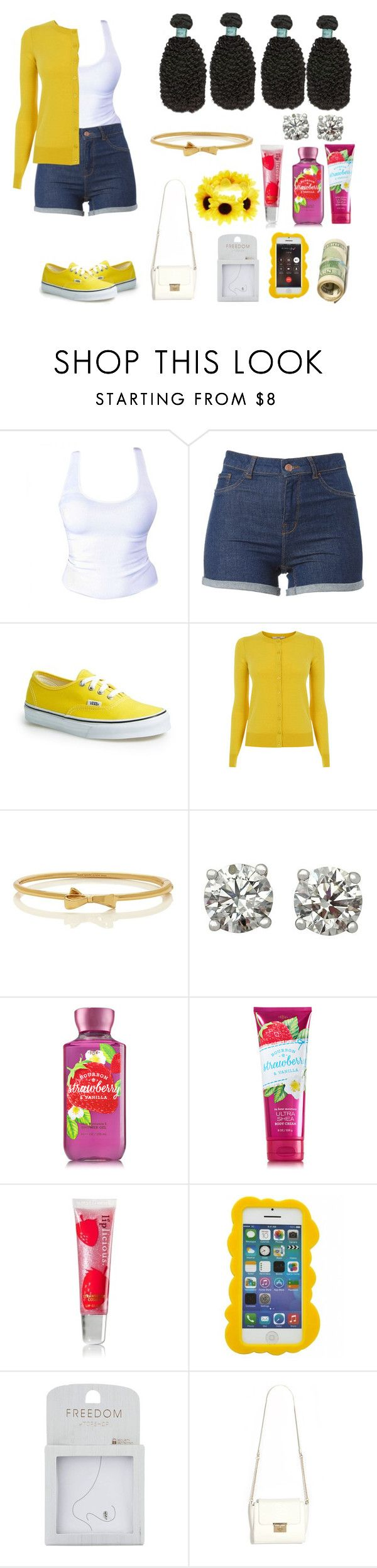 """""""summer family reunion"""" by darkroom-1 ❤ liked on Polyvore featuring Vans, Oasis, Kate Spade, Disney, xO Design, Topshop and Accessorize"""