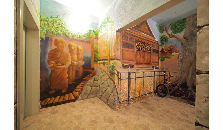Тайланд в вашем доме. Роспись в интерьере.