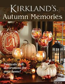 kirklands catalog and promo code - Halloween Catalogs